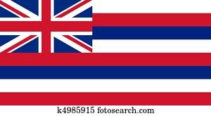 Hawaii state flag