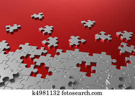 Puzzle assembly