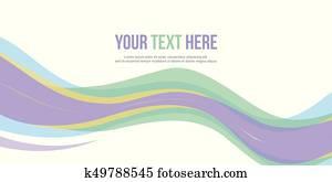 Abstract design banner website header