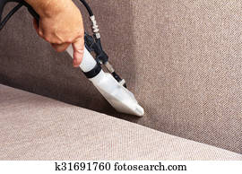 Professional cleaning sofas