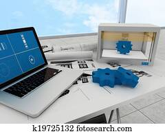 3d printing technology, gears