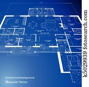 Blueprint. Vector
