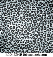 BW Leopard skin background or texture