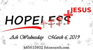 ash wednesday 2019, a day of hope