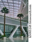 Modern architecture interior