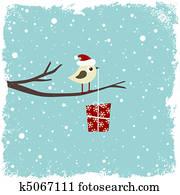 winterbilder, karte