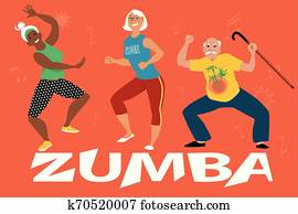 Zumba Gold for seniors