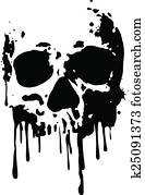 skull blood2