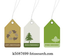 Ecology and recycle tags