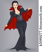Pin-Up Girl Vampire