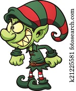 Evil Christmas elf
