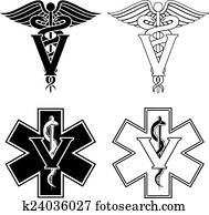 Veterinarian Medical Symbols
