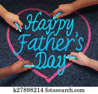 Happy Fathers Day Children