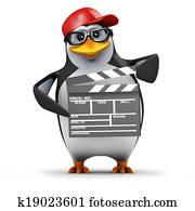 3d Penguin movie