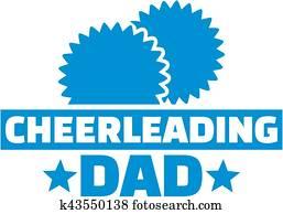 Cheerleading dad