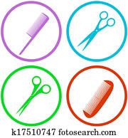hair salon tools set