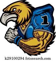 hawk football player