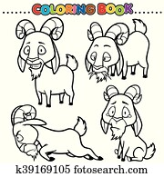 Coloring Book Clip Art EPS Bilder. 126.458 coloring book Clip Art ...