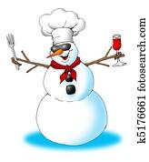 Snow Man Chef