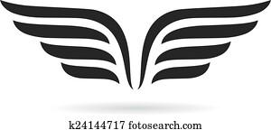 Wings symbol