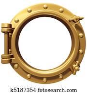 Isolated porthole