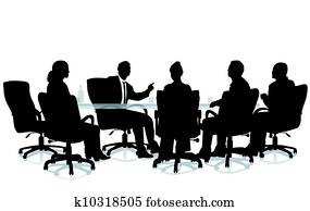 Office interview session