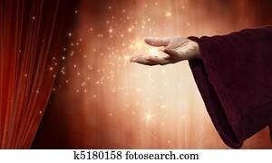 wizard hand
