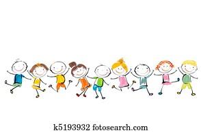 Bambini Raccolte Di Clipart Ed Illustrazioni 497 701 Bambini Oltre