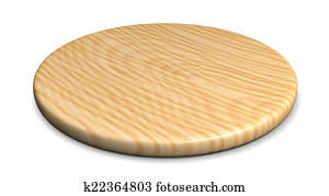 Wooden plate for meat and vegetable