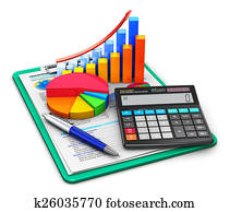 Finance and accounting concept