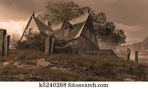 Seaside Victorian Cottage