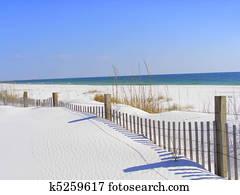 White Sand Beach Destin, Florida