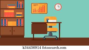 Background of business office.