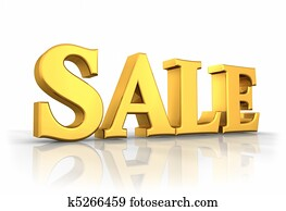 Gold Sale Tag