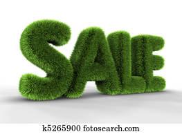 Grass Sale Tag