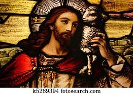 Jesus with Lamb