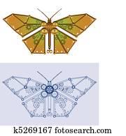 Mechanical butterfly