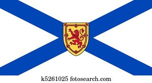 Nova Scotia state flag