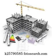 Construction project overview