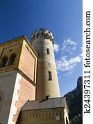 Turret of Neuschwanstein Castle