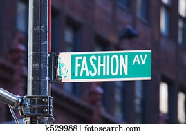 New York City Fashion avenue