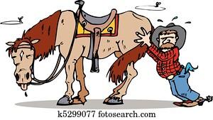 push start horse
