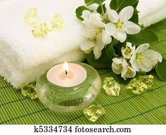 Aroma candle for aromatherapy