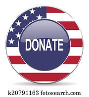 donate american icon