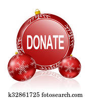 donate christmas icon