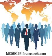 global, human resources, gesch?ftsmenschen, arbeit mannschaft