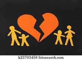 Broken family