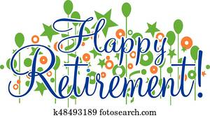 Happy Retirement Banner or Sign