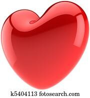 Valentine heart shape in Love