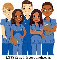 andersartigkeit, krankenschwester, team